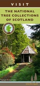 Visit the National Tree Collections of Scotland leaflet