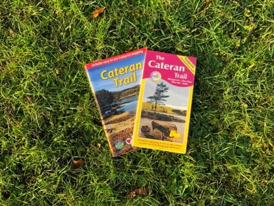 Cateran Trail Footprint Map and Guidebook
