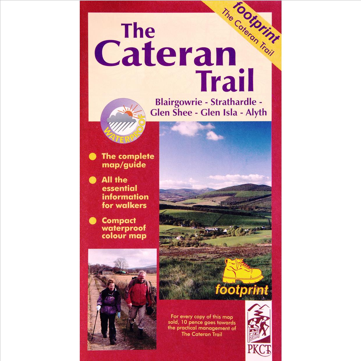 Cateran Trail Map