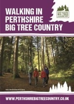 Walking in Perthshire Big Tree Country brochure