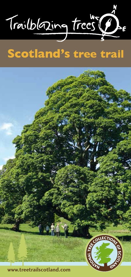 National Tree Collections of Scotland (NTCS) leaflet