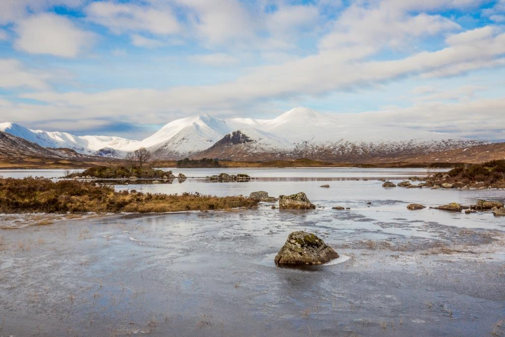 Rannoch Moor in winter ©VisitScotland / Kenny Lam, all rights reserved.