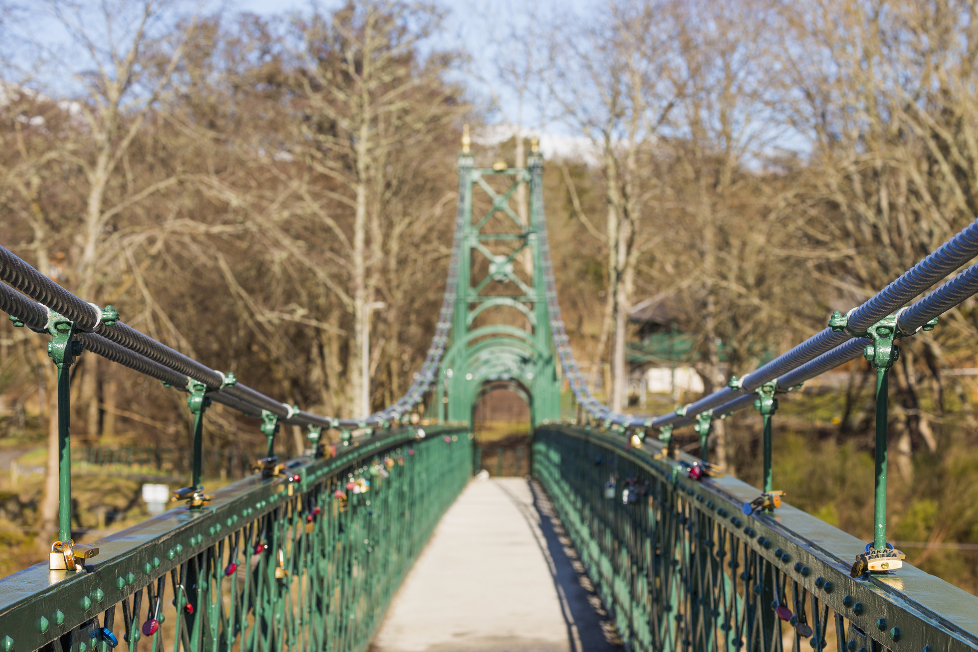 Port-Na-Craig Suspension Bridge, Pitlochry © VisitScotland / Kenny Lam, all rights reserved
