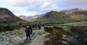 Walkers at Glenshee