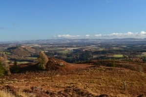 View from Birnam Hill