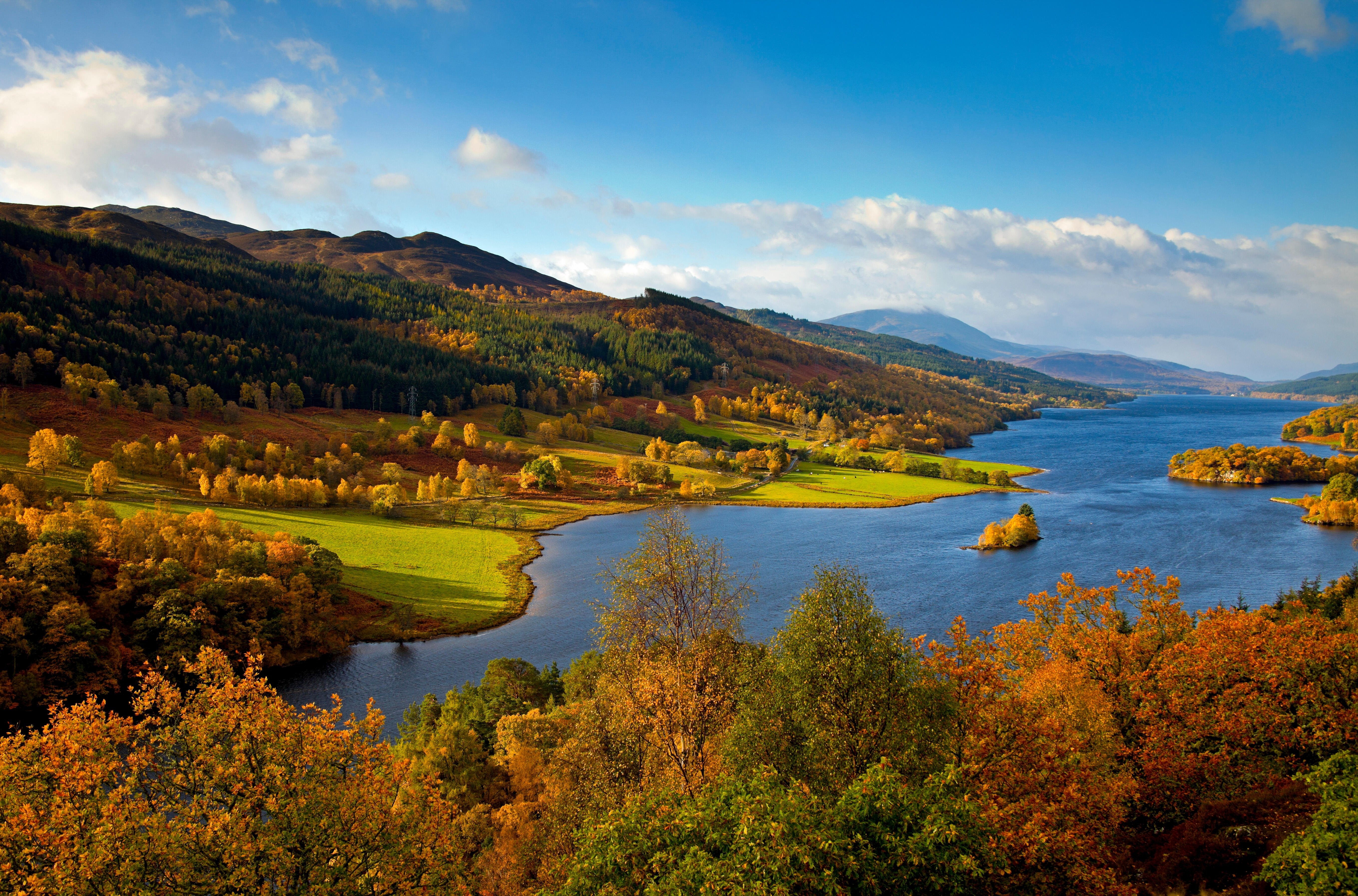 Queens View, Pitlochry © Scottishcreative / Alamy Stock Photo