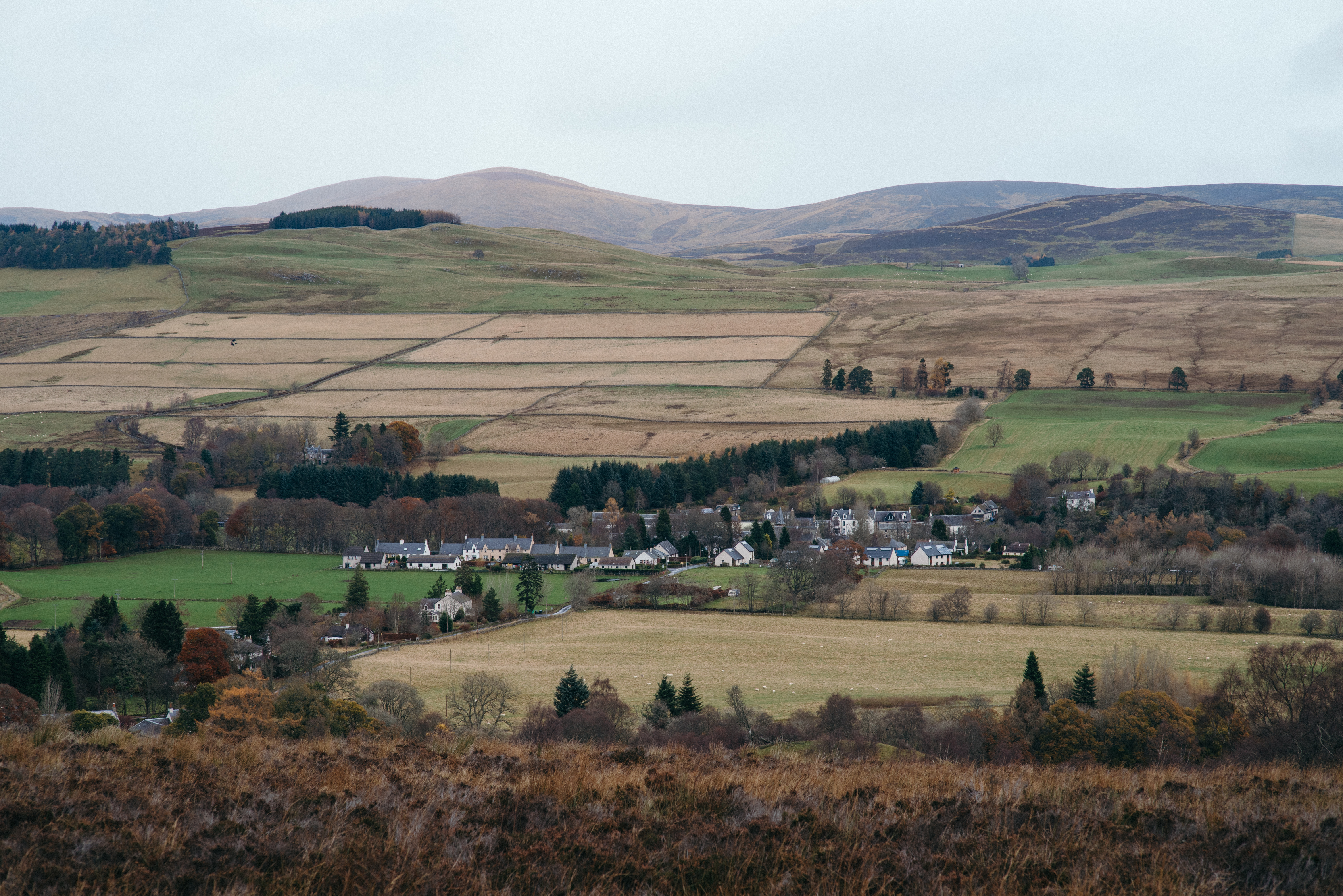 View of Kirkmichael © Photos by Zoe