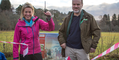 Polly Murray opens the Kirkmichael Path Network