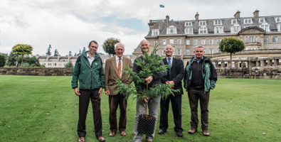 Presentation of PCCPs 1,000th tree to Gleneagles © photos by zoe