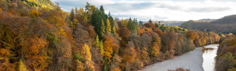 Looking over the Garry Bridge onto the River Garry by Killiecrankie © VisitScotland / Kenny Lam, all rights reserved