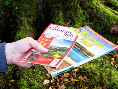 Cateran Trail guidebook and map © PKCT
