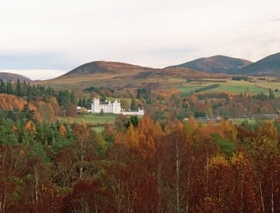 BLAIR CASTLE AT BLAIR ATHOLL, NORTH OF PITLOCHRY, PERTHSHIRE © VisitScotland / Paul Tomkins, all rights reserved