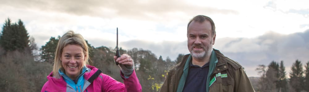 Adventurer Polly Murray Opens New Path Network in Kirkmichael