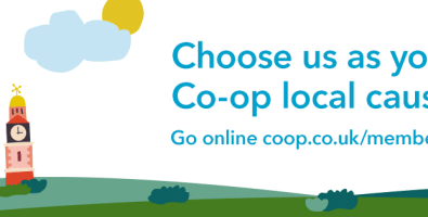 Choose us as your Co-op local cause