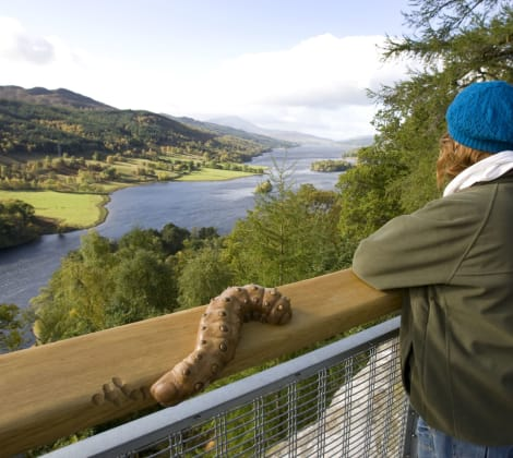 Queens View © Perthshire Picture Agency