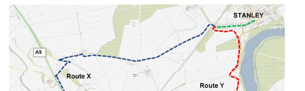 Stanley to Luncarty Active Travel Route