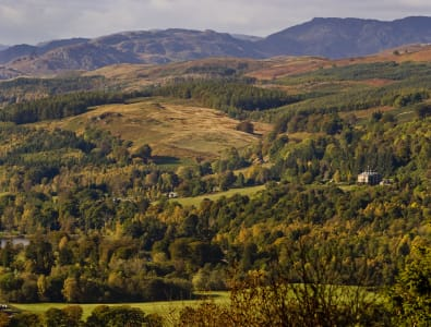 View from Knock © Perthshire Picture Agency