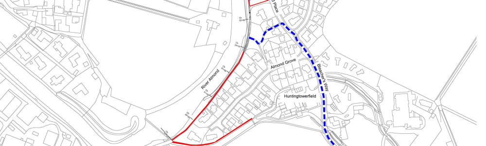 Path upgrade works on NCN 77 at Almondbank to begin