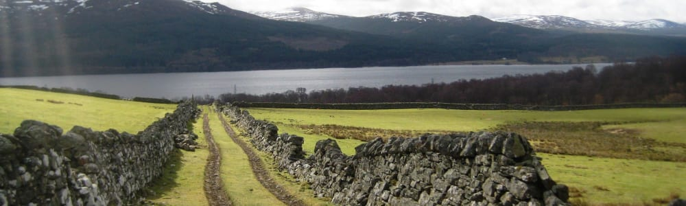 Path to Loch Rannoch